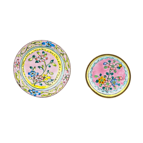 Enamel Table Accent Dishes