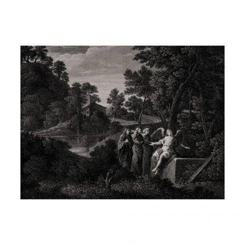 Classical landscape print