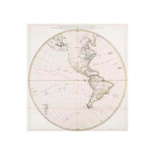 Old World Map 1774