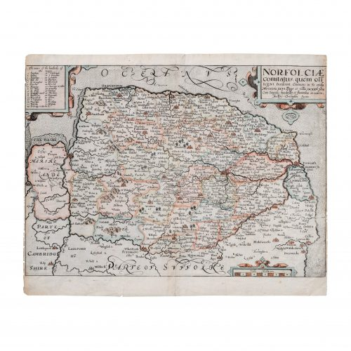 Old English Map