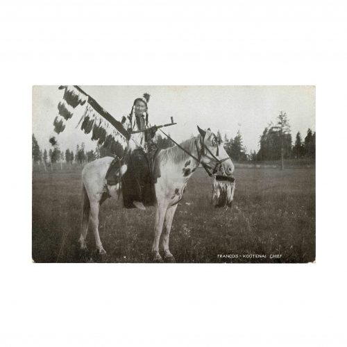 Kootenai Tribe Vintage Postcard