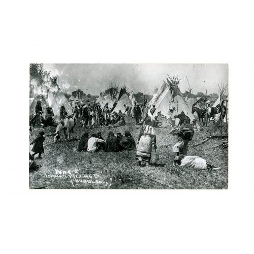 Indian Village Photograph