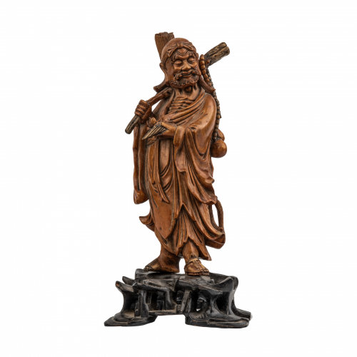 Chinese immortal statue sculpture