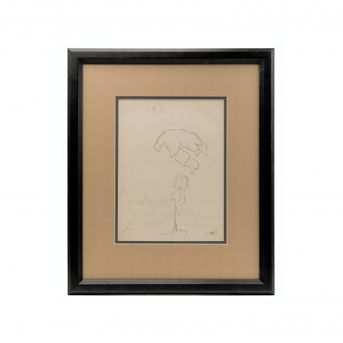 Charles Burchfield Drawing