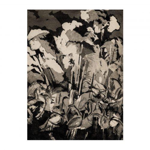 Abstract Vintage Art Print