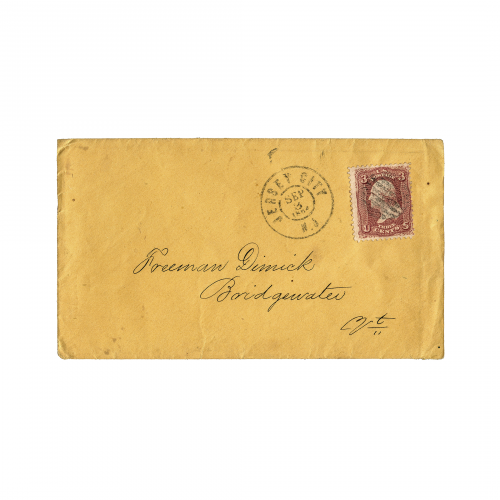 New Jersey Collectible Postal Cover