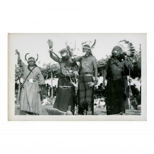 Native American Ceremonial Photograph