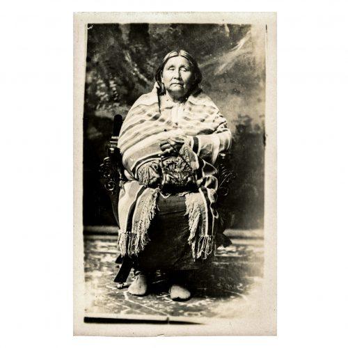 Native American Seated Portrait