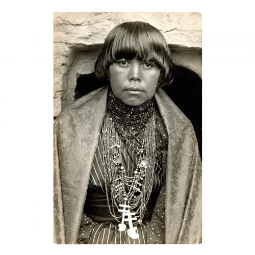 Pueblo Indian Woman Picture