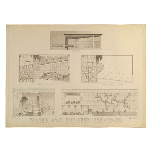 Architectural Presentation Drawing
