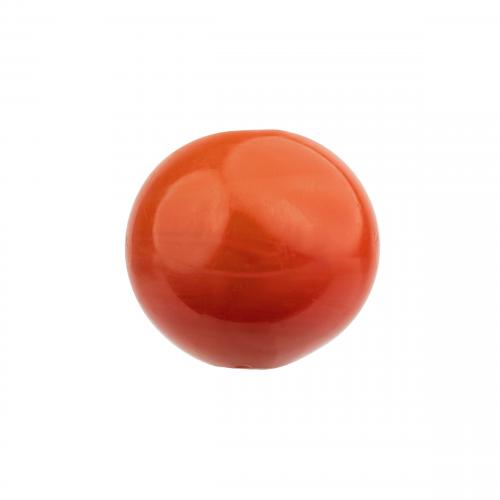 Red Glass Ojime Bead
