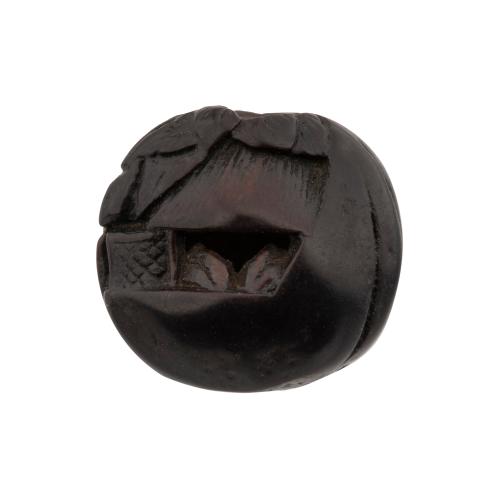 Japanese Wooden Ojime Bead