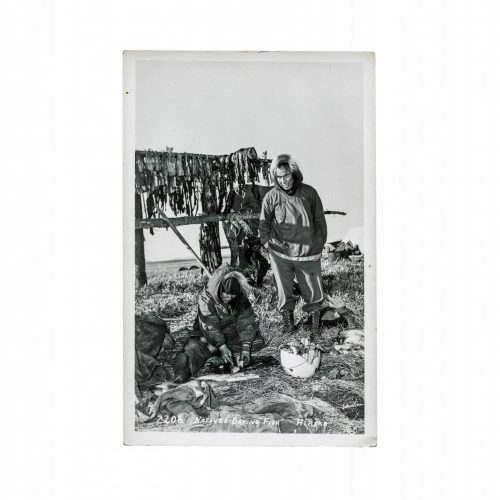 Native Alaskans Vintage Postcard