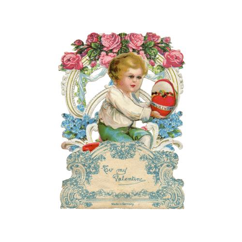 My Valentine Vintage Valentine Card