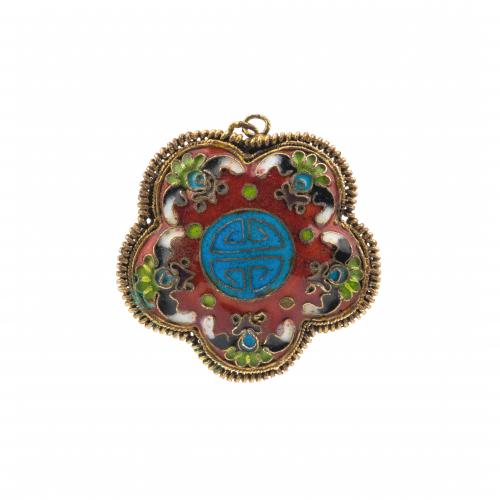cloisonne pendant for sale