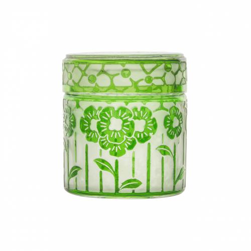 French Art Glass Jar