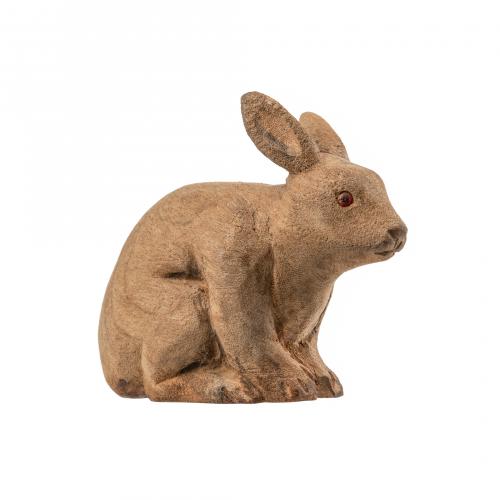 Antique Wooden Rabbit