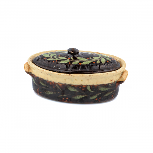 Earthenware Covered Dish