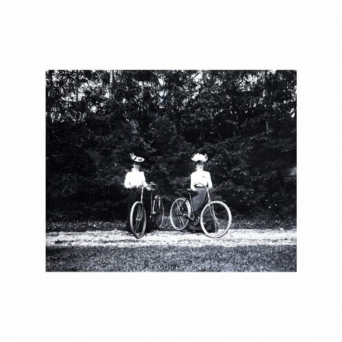 Old Bicycle Photograph
