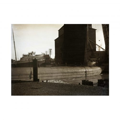 Whaleback Barge Photograph