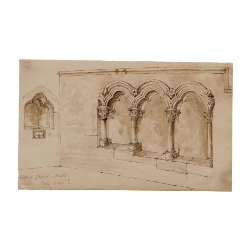 Architectural Arch Drawing