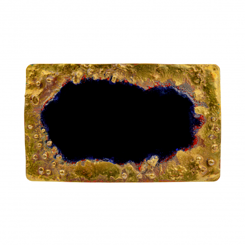Abstract Belt Buckle
