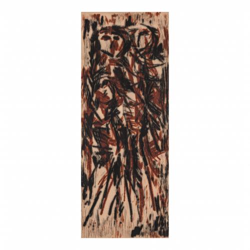 Abstract Figure Print