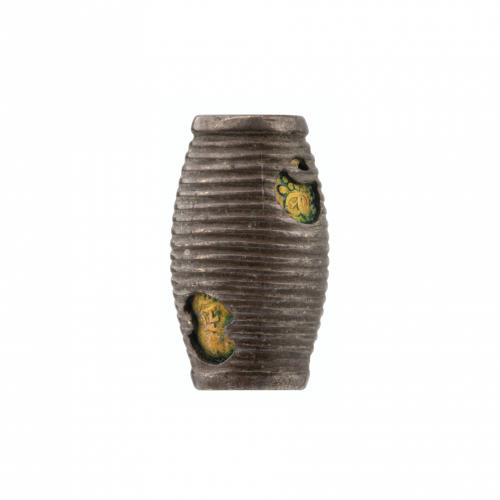 Japanese Metal Ojime Bead