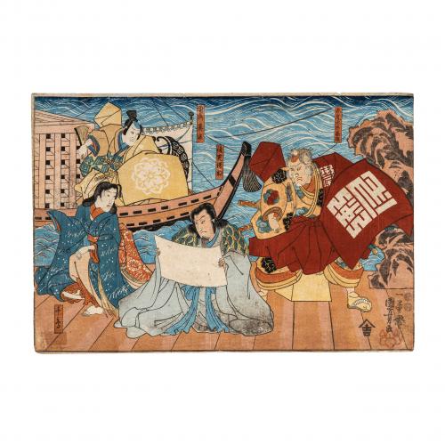 Utagawa Kuniyoshi Woodblock Print