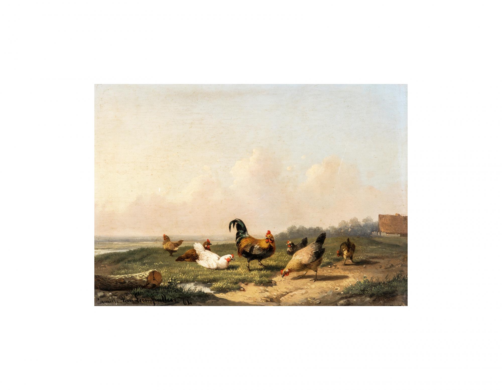 Belgian Landscape Painting