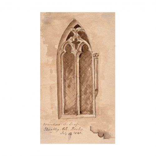 Gothic Window Drawing