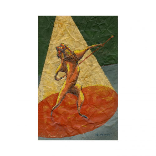 circus art painting