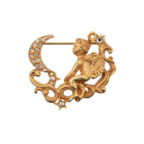 Angel fantasy brooch