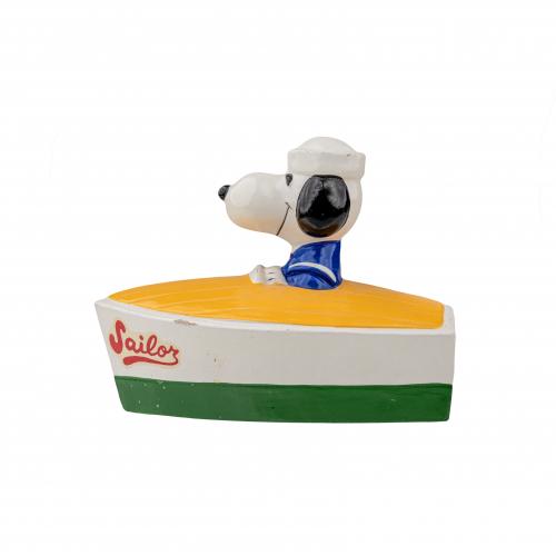 Snoopy Sailor Bank