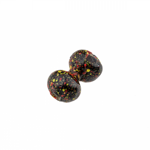 spotted glass bead