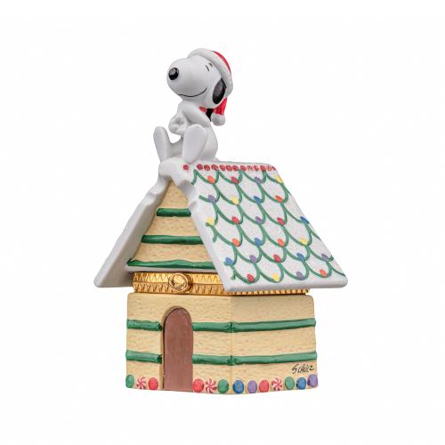 Snoopy Christmas Trinket Box