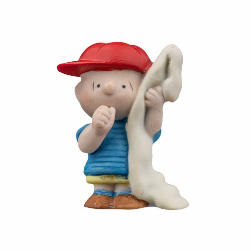Linus baseball figurine
