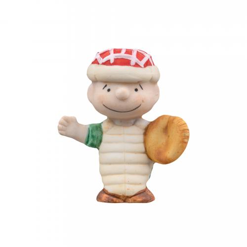Schroeder Peanuts Baseball Figurine