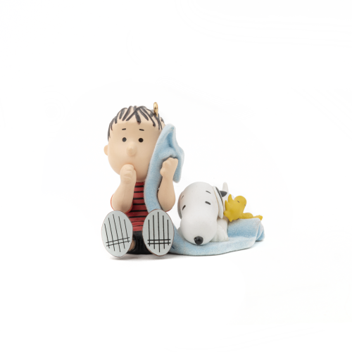 Linus Snoopy and Woodstock Christmas Ornament