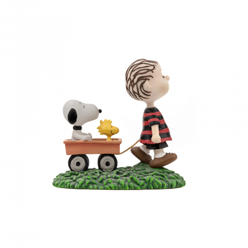 Linus Snoopy and Woodstock Figurine