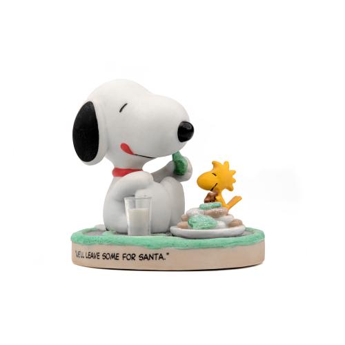 Snoopy and Woodstock Christmas Figurine