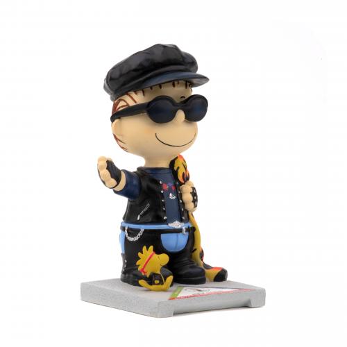 Motorcycle Linus Figurine