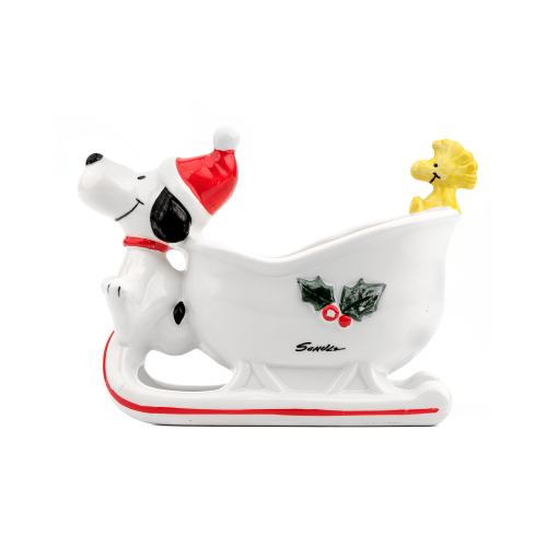 Snoopy and Woodstock Christmas Sleigh