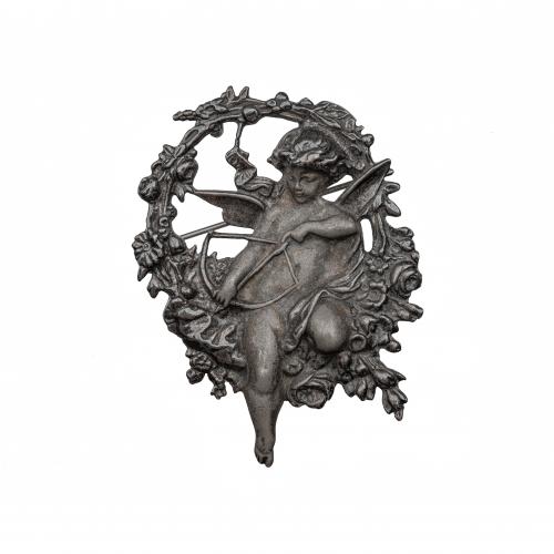 Silver Cupid Pendant
