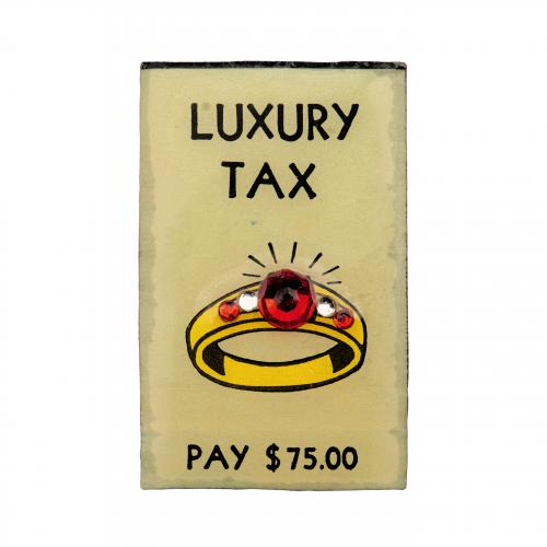 Monopoly Brooch