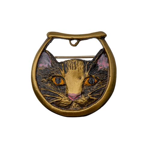 Fishbowl Cat Pendant