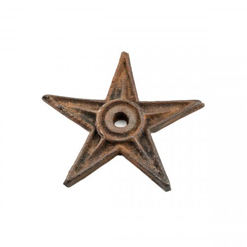 Antique Cast Iron Star