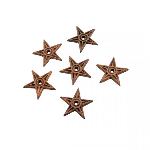 Cast Iron Antique Stars