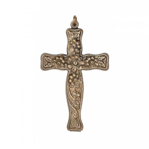 Art Nouveau Pendant Cross