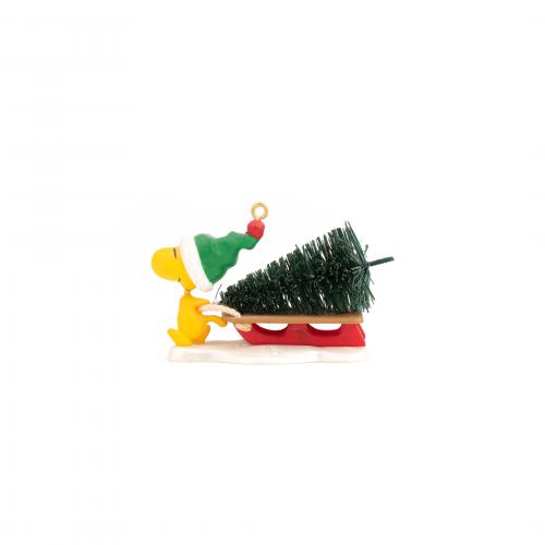 Woodstock Christmas Ornament